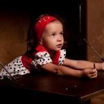 Фотосессия детей в студии