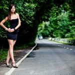 Фотосесия на дороге